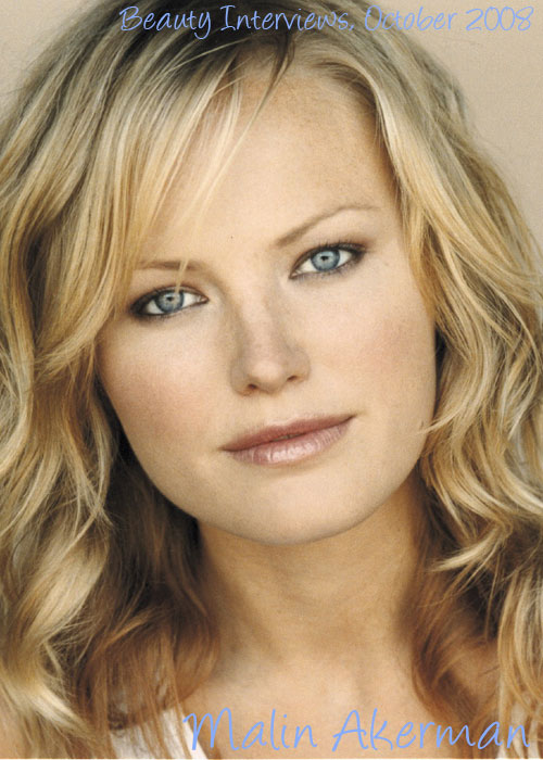 Beauty Interviews October 2008-Malin Akerman